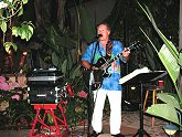 Live Music at Backyard Hawaiian Luau, July, 2006