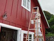 Painting Barn, April 5, 2010