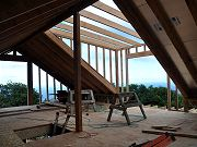 Barn Dormer from Upstairs, February 8, 2010