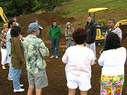 Hawaiian Land Blessing / Groundbreaking on April 3, 2008