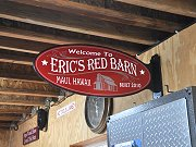 Welcome to Eric's Red Barn Sign