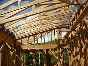 Framing in Framing in Master Bedroom in August, 2008