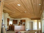 Great Room with Kitchen and Cedar Ceiling. June 15, 2009
