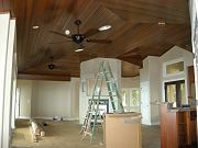 Great Room Ceiling Fans Installed. July 25, 2009
