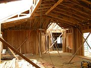 Great Room Framing Looking into Office, September 1, 2008