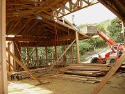 Great Room Framing and Roofing, August 31, 2008