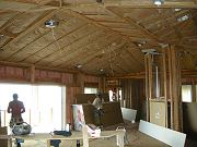 Great Room with Insulation.  Feb. 20, 2009