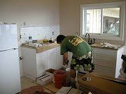 Guest Room Kitchen Backsplash, August 19, 2009