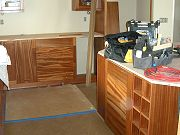 Kitchen Cabinets being Installed. May 18, 2009