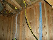 Lots of Wires in Equipment Closet.  January 24, 2009