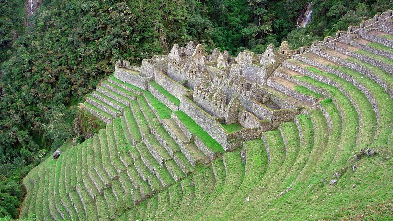 Inspiration for Terraced Rock Walls, Machu Picchu, Peru