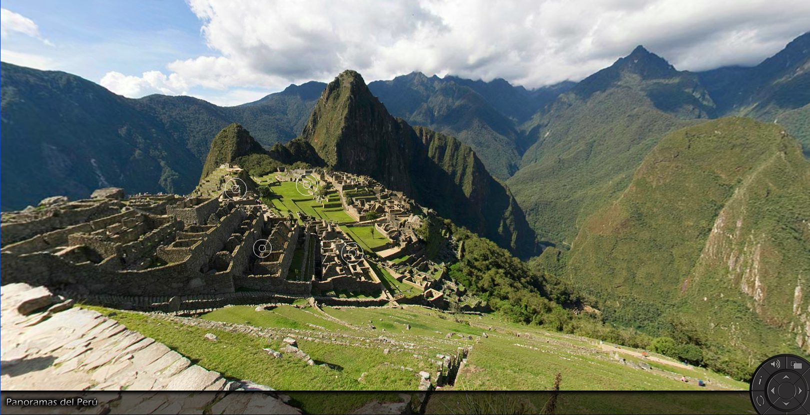 Machu Picchu 360 degree Panorama