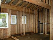 Master Bathroom Framing, September 24, 2008