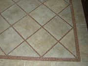 Master Bathroom Floor Tile, Sept. 2, 2009