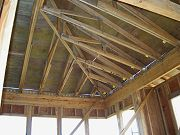 Office Roof Framing September 1, 2008