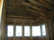 Soffit in Office / Bedroom #2.  January 24, 2009