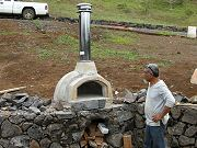 Outdoor Wood-Fired Pizza Oven, September 11, 2010