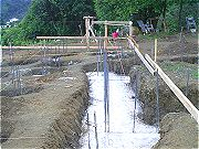 Foundation Work Early May 2008