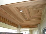 Cedar Reflective Ceiling in Main Lanai, May 6, 2009