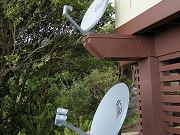 Satellite Dishes Below Master Bedroom, Sept. 25, 2009