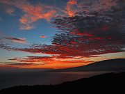 Sunrise From Main Lanai Panorama, October 25, 2012