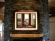 Tea Room by Edward Gordon on Fireplace in Dining Room, January 12, 2010