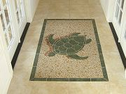 Turtle Inlay in Breezeway, Oct. 7, 2009