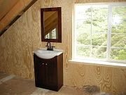 Upstairs Vanity and Mirror in Barn, May 11, 2010