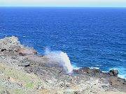Nakalele Blowhole Four Miles Northwest of Property